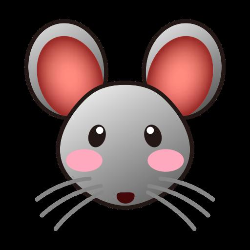 Rat Face Clipart.