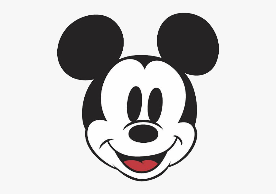 Clip Art Mickey Face Png.