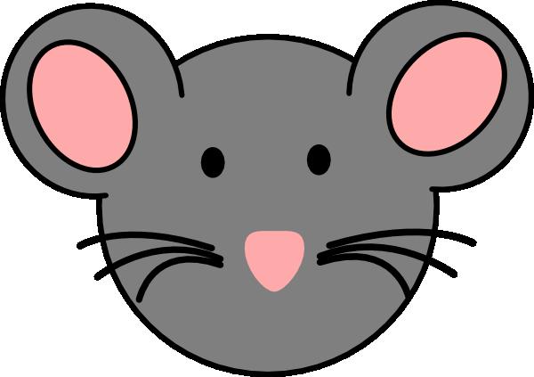 Mouse Face Clipart.