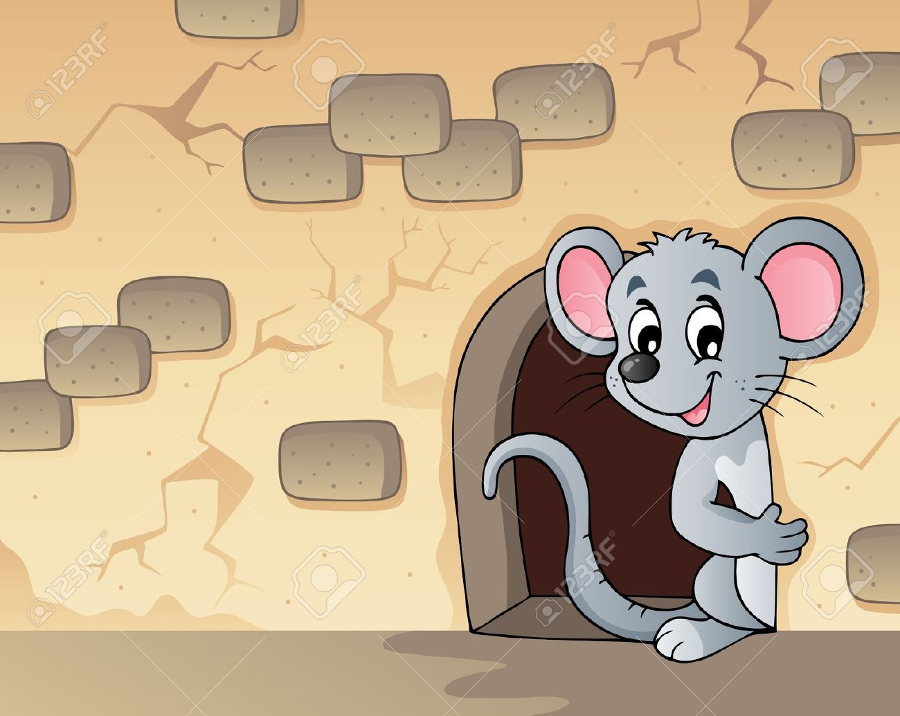 Mouse House Clipart.