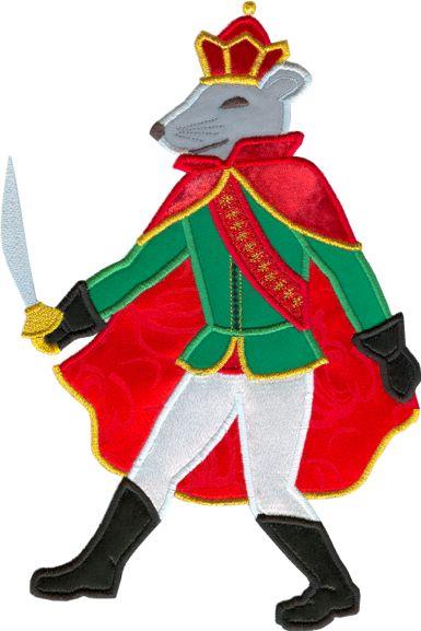 Rat King Nutcracker Clipart.