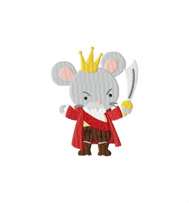 Nutcracker Mouse King Clipart.