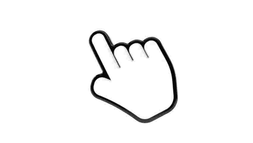 Best Cliparts: Click Hand Clipart Counting Mouse Cursor.