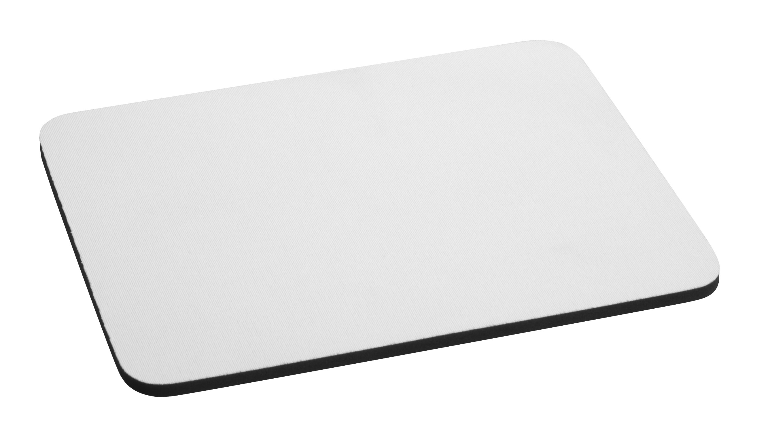 Offering black and white mouse pads, rubber material.