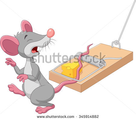 Mouse Trap Stock Photos, Royalty.