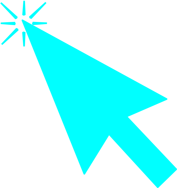 Mouse Pointer With Clicked Flashes Clip Art at Clker.com.