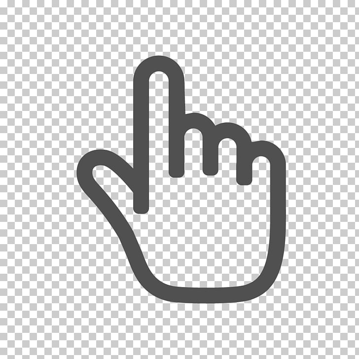 Computer mouse Pointer Cursor Hand , thunder in hand PNG.