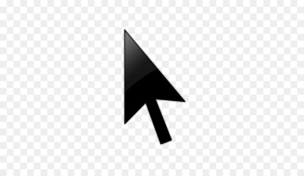 Computer mouse Pointer Arrow Icon.