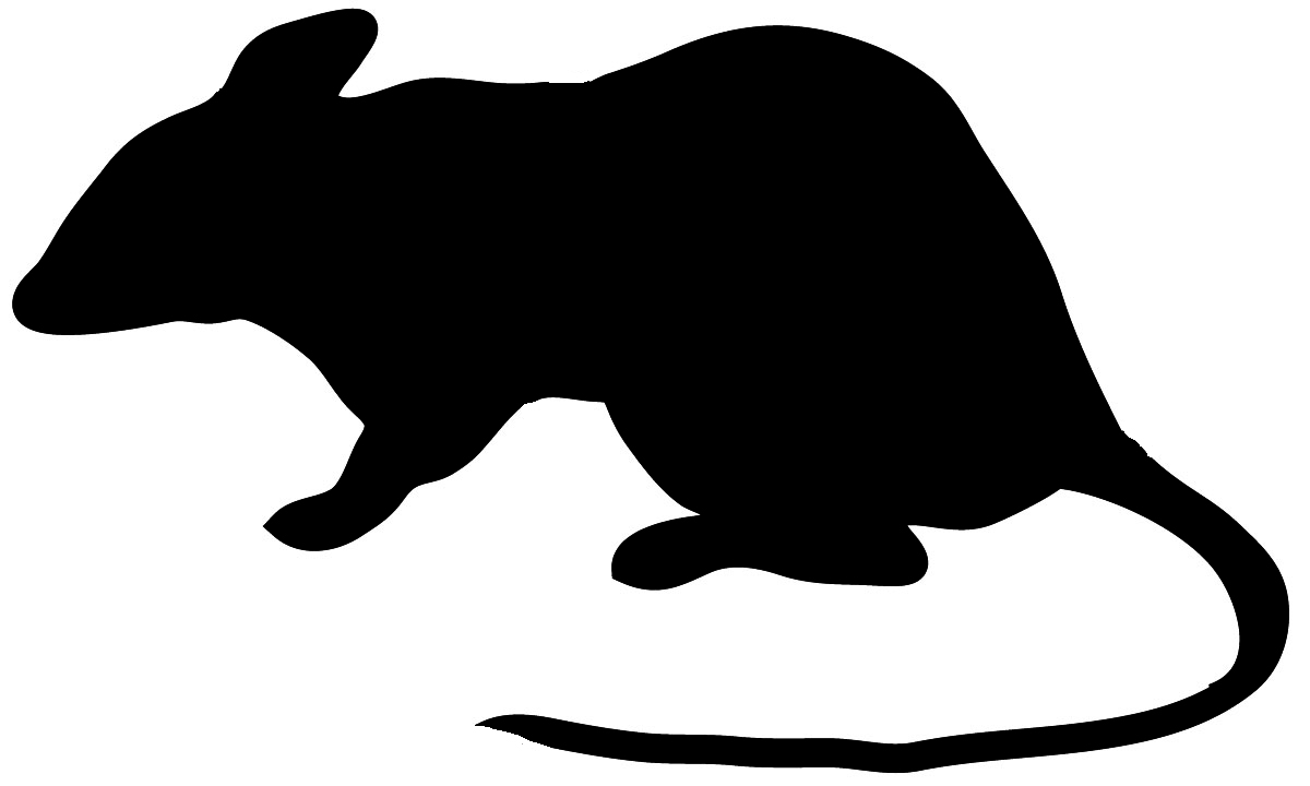 Mouse Clipart Silhouette.
