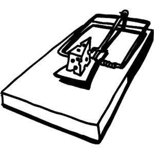 Mouse Trap Clipart.