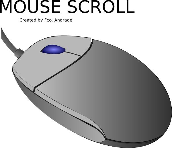 Wheel Mouse Clip Art at Clker.com.