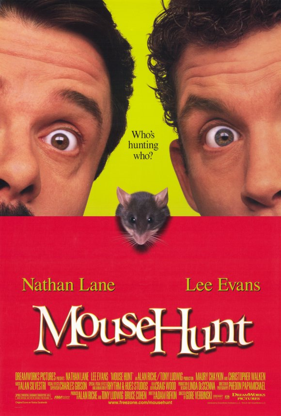 All Movie Posters and Prints for Mouse Hunt.