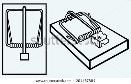 Mousetrap Stock Images, Royalty.