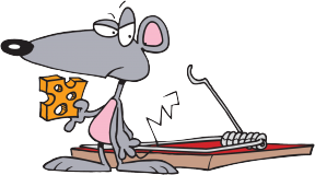 Mouse Trap Clipart.