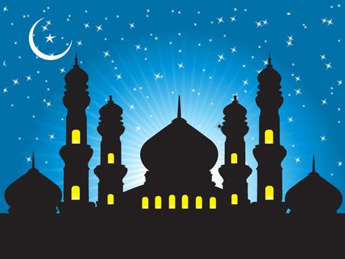Mosque Vector.