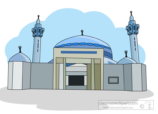 Clipart mosque building.