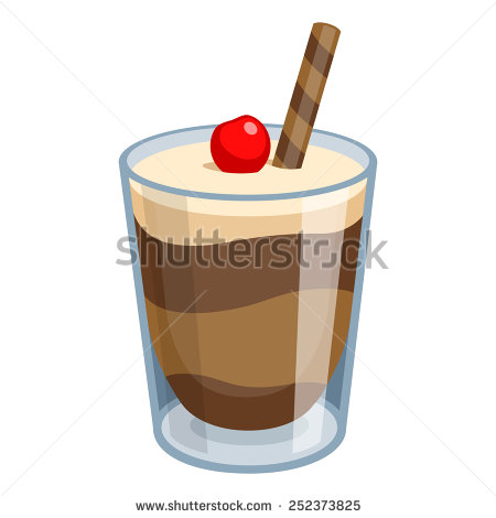 Chocolate Mousse Isolated Stock Photos, Royalty.