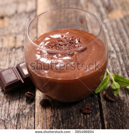Mousse Au Chocolat Stock Photos, Royalty.