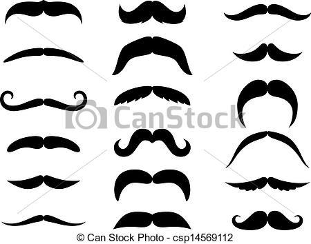 Moustaches Clipart Vector and Illustration. 830 Moustaches clip.