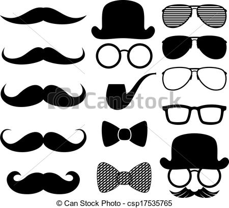 Moustaches Illustrations and Clip Art. 990 Moustaches royalty free.
