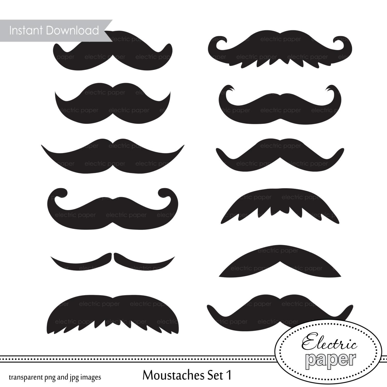 Clipart Clip Art Moustaches.