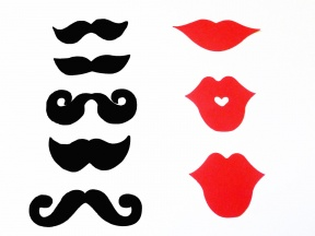 Mouth And Mustache Clipart.