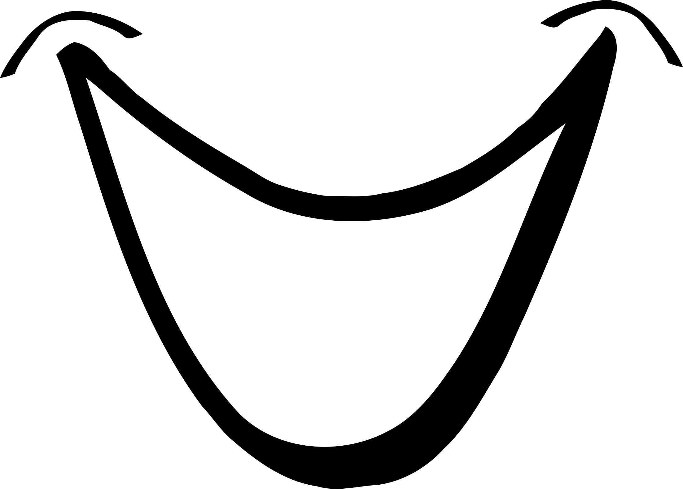 mouth black and white clipart - Clipground