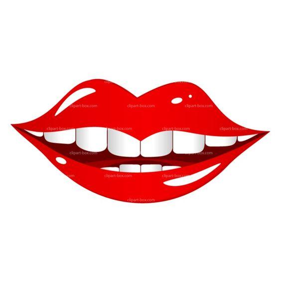 lip clip art images.