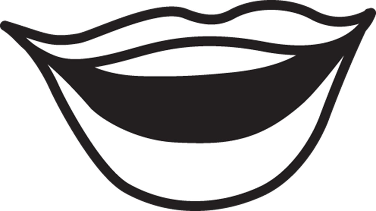 Quiet Mouth Clip Art.