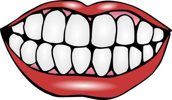 Mouth And Tongue Clipart Black And White Clipart Panda Free.