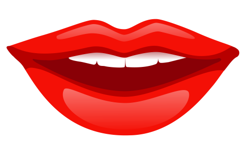 Lips PNG Transparent Image.