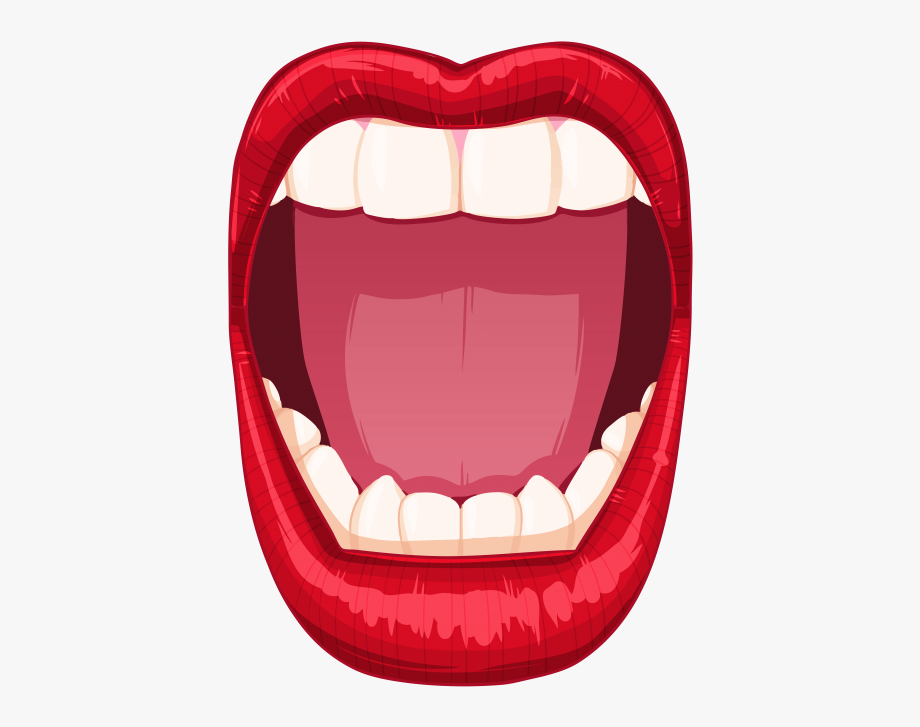 Open Mouth Png.