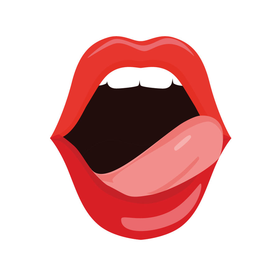 Entry #11 by tarana2402 for Logo Design Mouth with tongue.