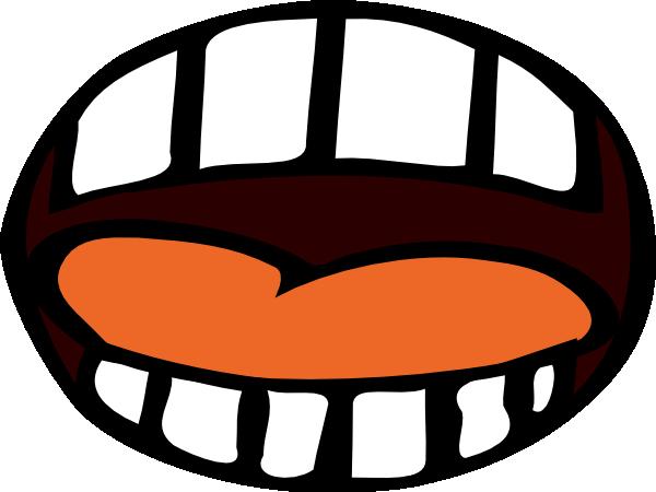 Cartoon Mouth Open.