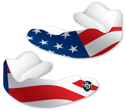 Fight Dentist Stars and Stripes Mouth Guard.