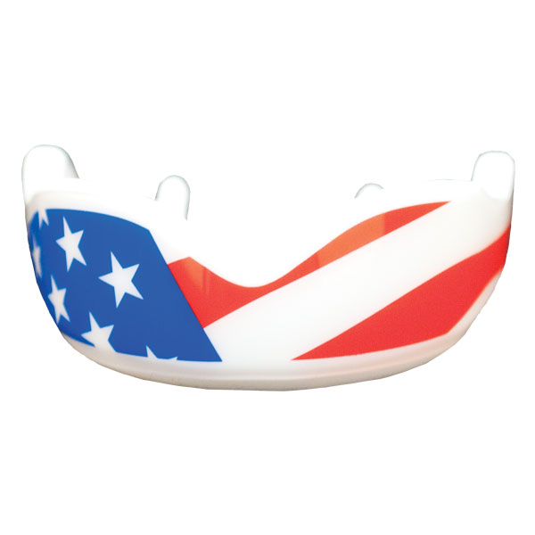 Fightdentist Boil and Mold Mouth Guard Stars and Stripes Custom.