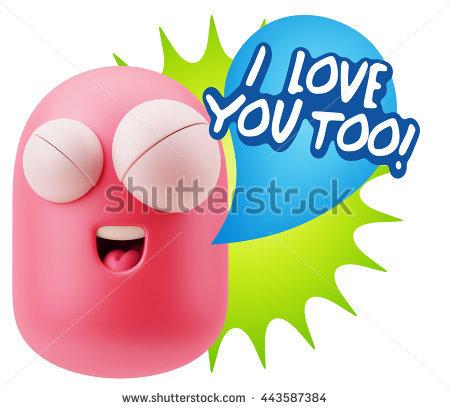 I Love Too You Banco de imagens, imagens e vetores livres de.