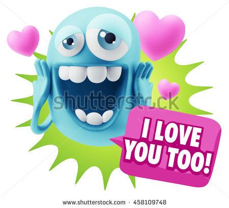 I Love Too You Banco de imágenes. Fotos y vectores libres de.