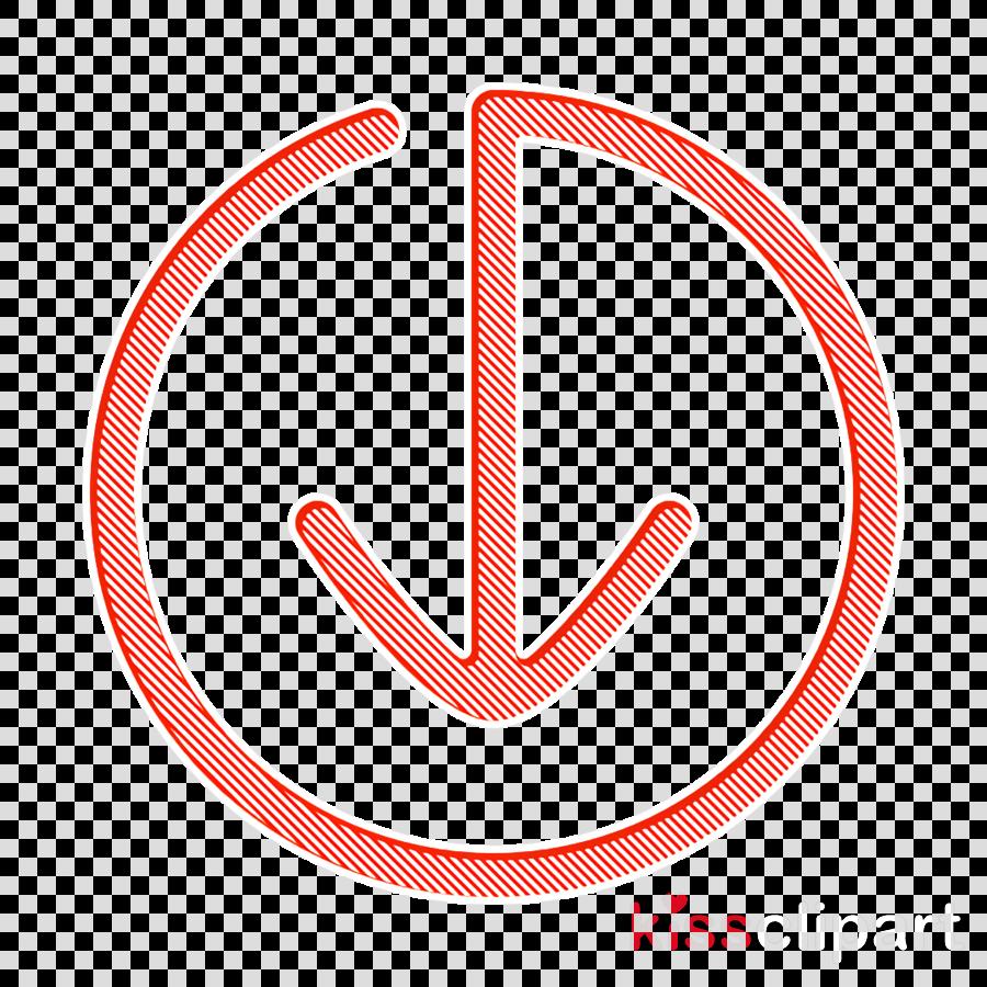 arrow icon down icon move icon clipart.