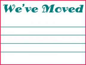 We Have Moved Clipart.