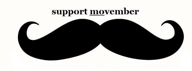Movember Is Right Around The Corner….