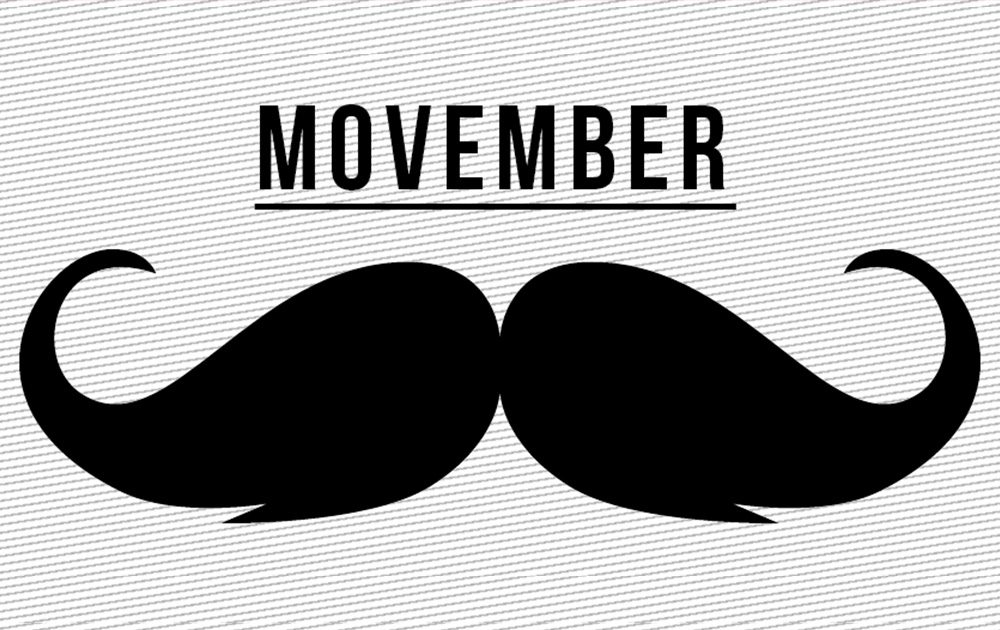 Get ready for Movember!.
