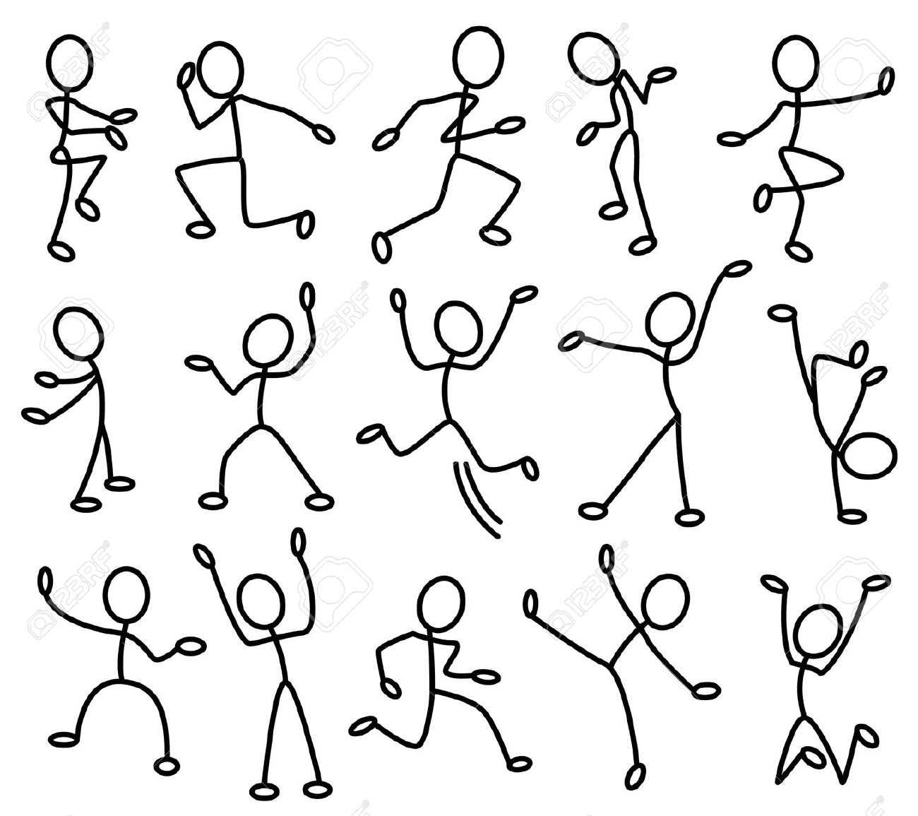 Movement Clipart.