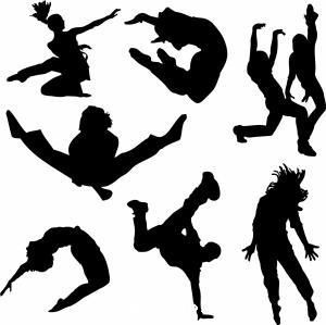 Dance movement clipart.