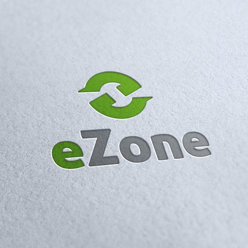 Eco Zone Movement Logo Template.