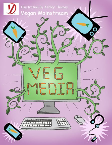 How is veganism portrayed in the media, and how important is that.