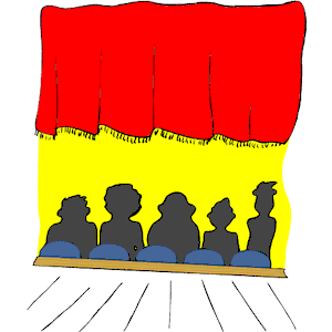 19 Movie Audience Clipart.