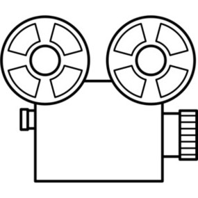 Free Movie Camera Clip Art Pictures.