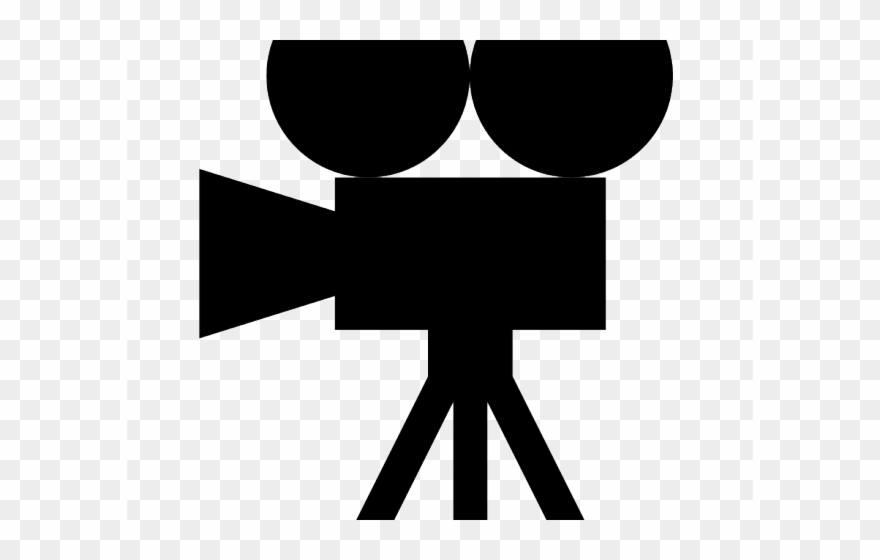 Video Icon Clipart Old Movie.