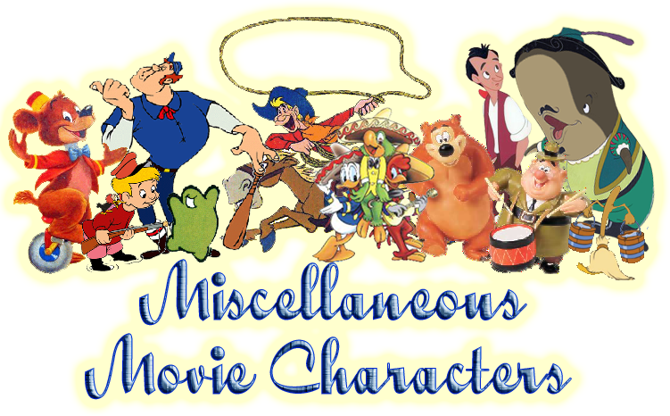 Disney movie characters clipart.